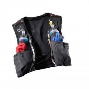 S/LAB SENSE ULTRA 5 SET - Black/ racing red front