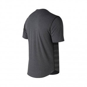 NEW BALANCE Tee-Shirt manches courtes Q SPEED JACQUARD Homme | Black Heather