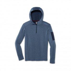 BROOKS notch thermal hoodie