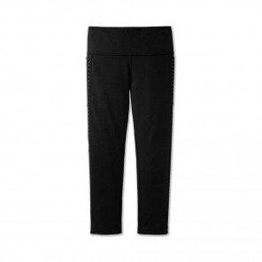BROOKS Collant Greenlight Capri Femme | Black